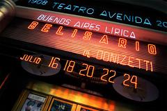 Letreiro em neon (fredferrer) Tags: argentina nikon neon buenos aires letters numbers frio nmeros letras letreiro d40
