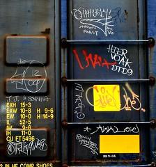 "Whistle Blower ""J.J. & Sophia"" - Strik9 d2d - I'm Ugly ""Venison Roast"" - Utah - Hier Voak -DTD9 - Elaro1 - GiveOne - Awal ""ese"" - Bench Reporter (mightyquinninwky) Tags: rails tracks railroad railway railcar train freight fr8 freightcar freightart railart trainart taggedrailcar paintedrailcar paintedsteel paintedtrain graf graff graffiti graphiti tag tags tagged movingart rollingstock whistleblower jjsophia otrik911d2d imugly l venisonroast character reflectivetape sticker utah hiervoa hiervoak dtd9 elaro1 giveone awal ese benchreporter 2010 moniker monikers streaks streak wafflecar boxcar boxcarart taggedboxcar ladder panel weathered rusty rusted rust markal markalart sb sp ufnr 11223344556677 carfireonflickr charactersformyspacestation voa"