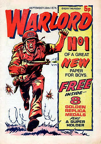 Warlord Comic: Issue One Cover - 6 of 8