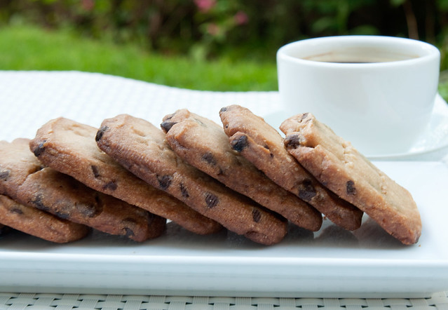 Chocolate-Espresso Shortbread Cookies