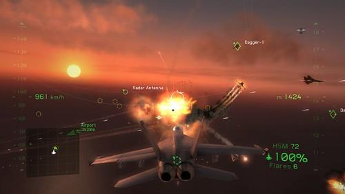 Tom Clancy?s H.A.W.X. 2 -  dogfight