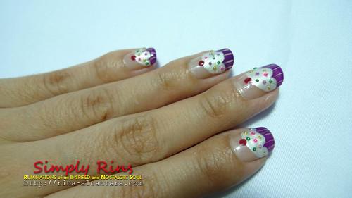 Nail Art Cupcakes 06