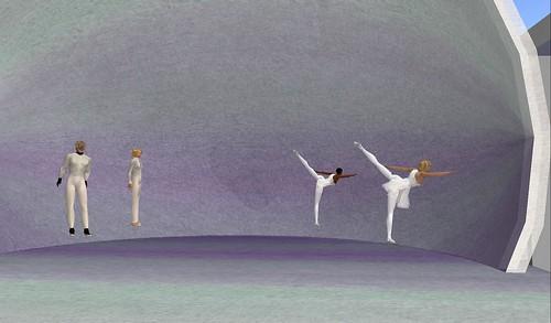ballet pixelle dancers pas de quatre
