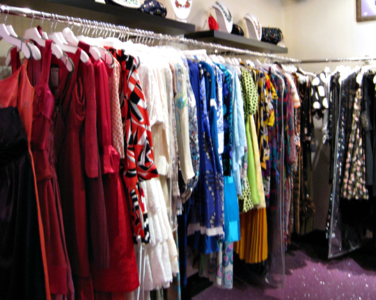Annie Creamcheese vintage dresses Vegas store