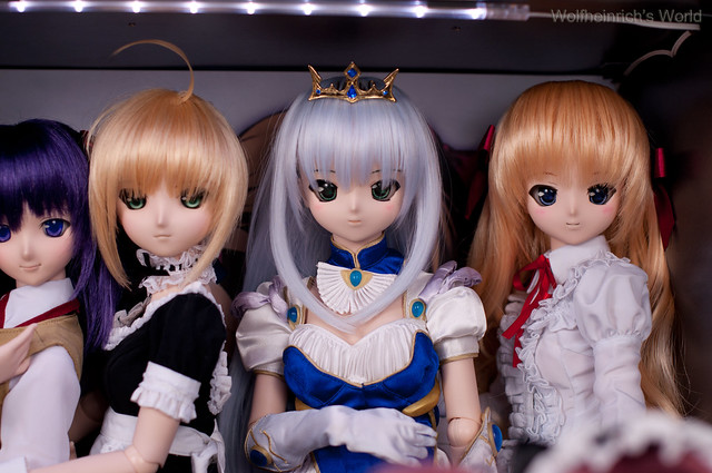 Dollfie Dream 人偶 DD娃娃 Saber セイバー Feena フィーナ Erika 千堂瑛里華