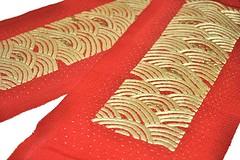 My new maiko han'eri!!! (kofuji) Tags: kyoto embroidery maiko geiko geisha kimono collar han eri hanamachi haneri