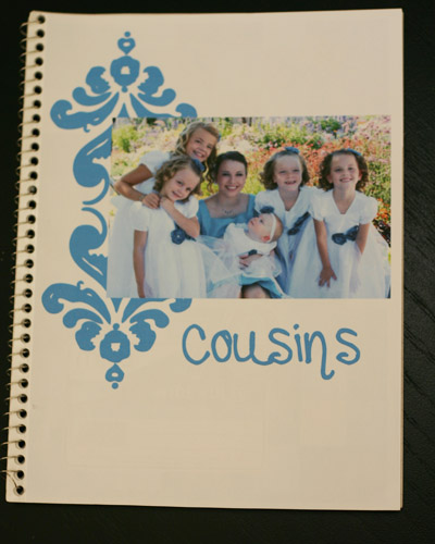 cousins notebook