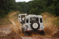 Land Rover and Red Cross - reaching vulnerable people around the world (Land Rover UK) Tags: red movement cross crescent ossinternational