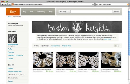 Visit Boston Heights on Etsy