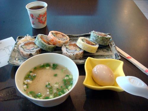「藤原壽司」-中午的點餐