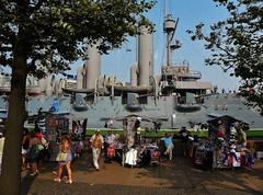 Cruiser Aurora St Petersburg (Eddie Crutchley) Tags: stpetersburg russia stall souvenir cruiseraurora