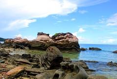 Rocky shore (A. AL-ABDULLAH) Tags: sea sky beach rocky shore      mywinners