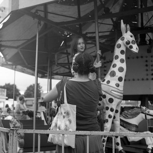 family carousel