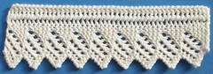 1. Knitted Edging (vintagekathleen) Tags: 1 lace knitted edging