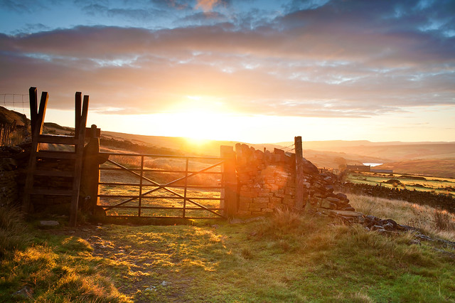 Kirklees Way | Gate