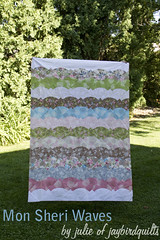mon sheri waves (Jaybird Quilts) Tags: quilt curves fabric tutorial drunkardspath robertkaufman monsheri accuquilt accuquiltgo 60blocksofsummer khristianahowell monsheriwaves curvemaster blocks224to294 swatchstitch