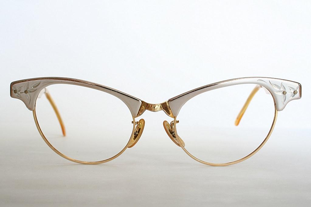fd9667baf79 Art Craft Rose Gold Eye Glass Frames (Vintage Cat Eye Glasses) Tags   sunglasses