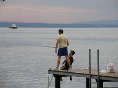 076 (keepps) Tags: summer lake schweiz switzerland fishing dock suisse august lakegeneva vaud laclman stprex