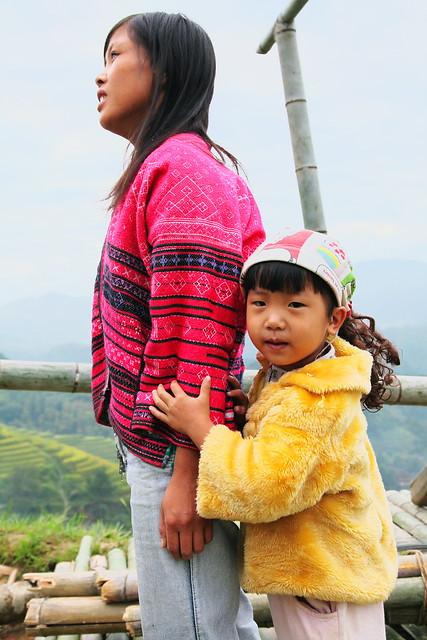 Yao woman & her child, Guangxi, China