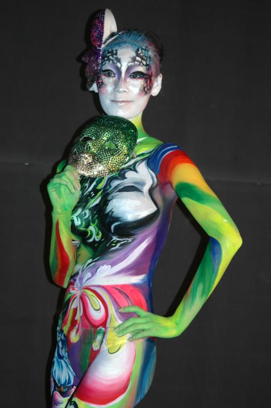 World Body Painting Festival in Daegu, South Korea