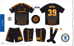 Chelsea Champions League away kit 2010/2011 (7football) Tags: shirt football chelsea jersey adidas 39 uefa championsleague maillot 2010 calcio 1011 maglia premierleague trikot anelka 2011 201011 20102011