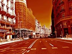 Gran Via 100 anos (Rubens.Campos) Tags: spain espanha via gran madri