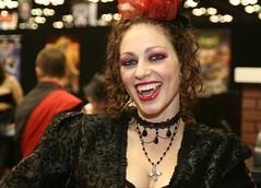 218/365 - Vampyre (Shivpics) Tags: usa canon vampire indianapolis gencon 365 vampiress in blono genconindy2010 thegrandmasquerade