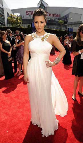 Kim Kardashian at the 62nd Primetime Emmy Awards