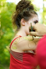Workshop Body Painting Shoot - DannieO (willstotler) Tags: park leica woman face female creek painting 50mm model paint artist photoshoot state skin body pennsylvania painted babe bodypaint pa summicron messy painter m8 bodyart kirk ridley dupuis summicron50mm bodypainter modelmayhem leicam8 willstotler kirkdupuis kirkworxproductions kirkworx mm1658634 1658634