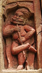 The terracotta Gate-keeper (asis k. chatt) Tags: terracotta bengal hoogly bengalterracottafromloknatharea