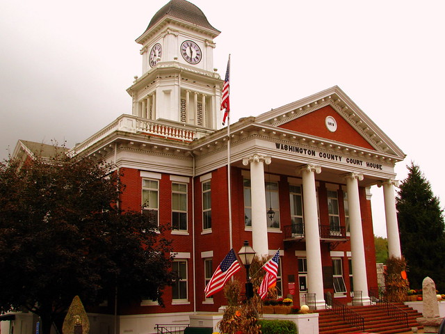 Washington County Courthouse - Jonesborough, TN