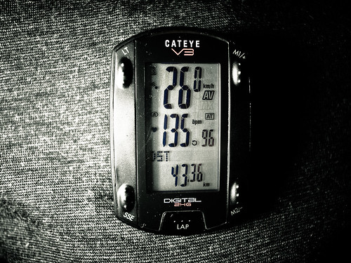 100min ave26.0 43.36km 調子が悪い 痛みも出た 涙も出た