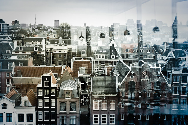 View over Amsterdam