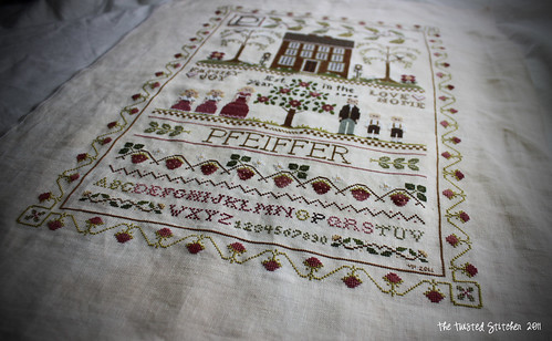 Little House Needleworks - Family Sampler 3