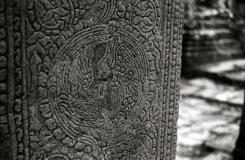 Angkor Wat black&white