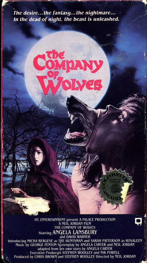 The Company Of Wolves (VHS Box Art)