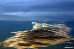 Flight of a Cloud (AshMec) Tags: blue sky cloud india abstract bangalore maheshwari ashveen flickraward platinumheartaward