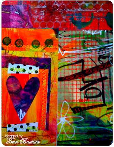 LOVE hearts collage