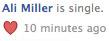ali miller is single