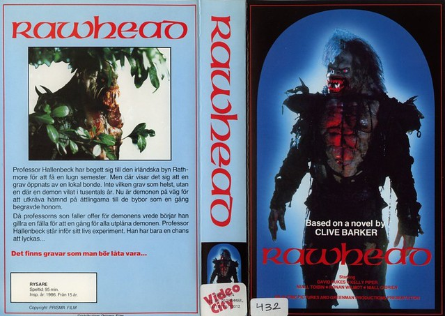 Rawhead Rex (VHS Box Art)