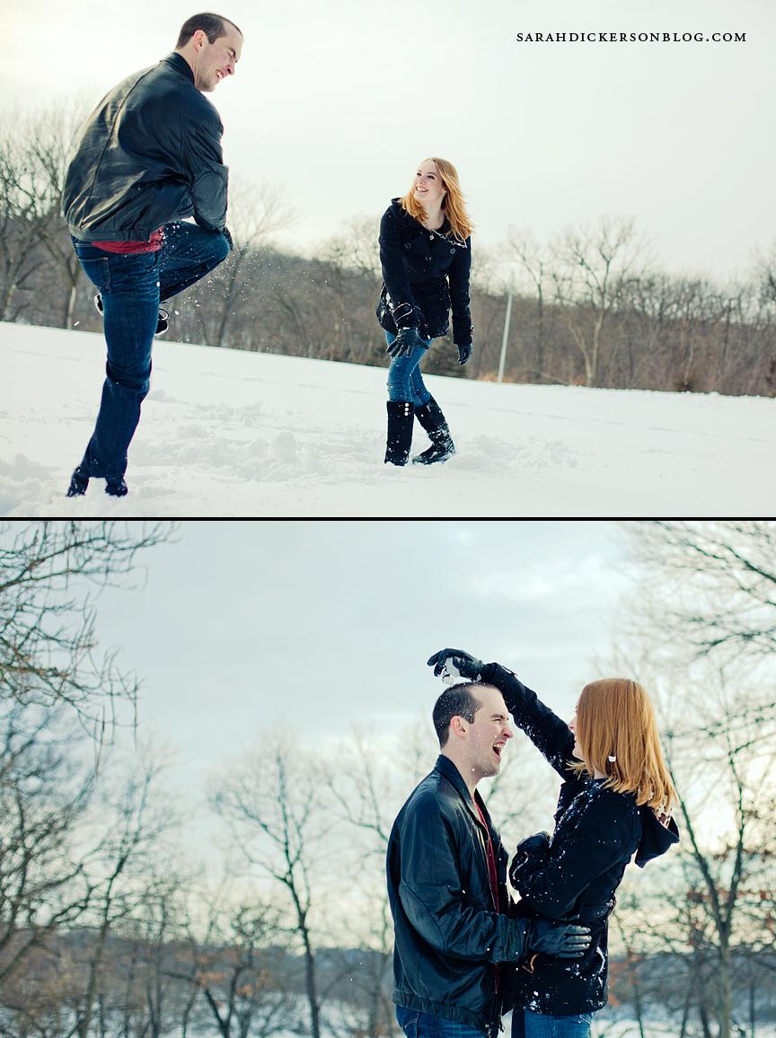Shawnee Mission Park Kansas engagement photography