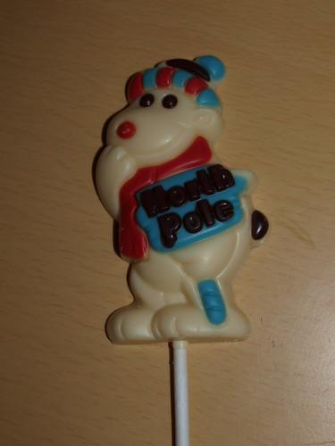 White Chocolate Polar Bear Lollipop