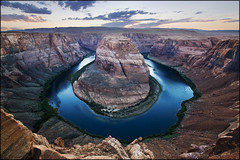 USA - Colorado river - Sunset over Horseshoe Bend (Lo Scorpione) Tags: sunset arizona usa rock river utah colorado raw unitedstates quote canyon page sigma1020mm horseshoebend vertorama andromeda50 mygearandmediamond tplringexcellence eltringexcellence
