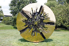 _MG_0992 Grande Disco - Arnaldo Pomodoro (ses7) Tags: new york sculpture gardens headquarters kendall purchase pepsico in at
