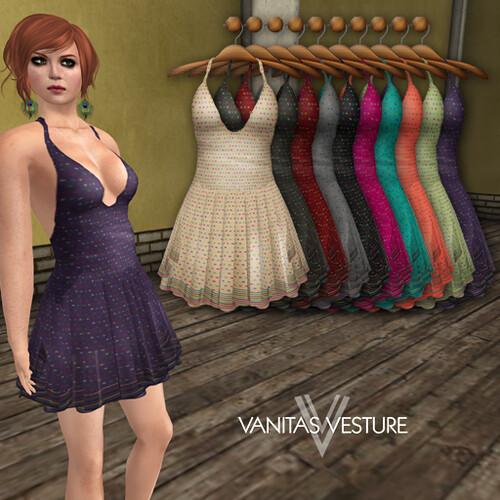 Vanitas Vesture - Kay Minidress