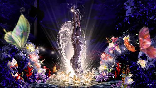 El jardín del angel