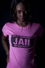 ladies fitted inmate shirt (jailexchange) Tags: prisonjumpsuit prisonclothes inmateuniform prisonuniform prisonsuit prisonwear jailclothing jailshirts jailtshirts prisonclothing womenjailpictures prisonerclothing