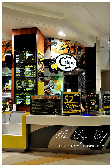 The Crepe Cafe Queen Street Mall Brisbane