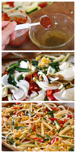 Chipotle Roasted Vegetable Salad | salad recipes | tex-mex recipes | roasted vegetables, gluten-free recipes | dairy-free recipes | perrysplate.com