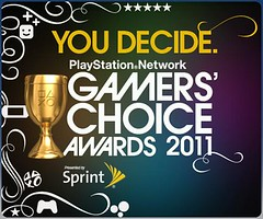PSN Gamer's Choice Awards 2011